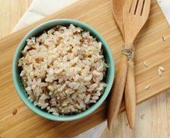雑穀米と玄米と白米の違い